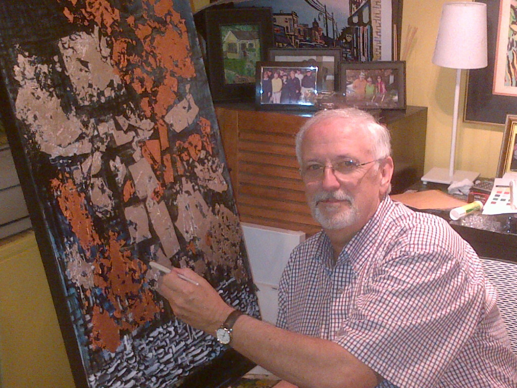 Richard in His Studio