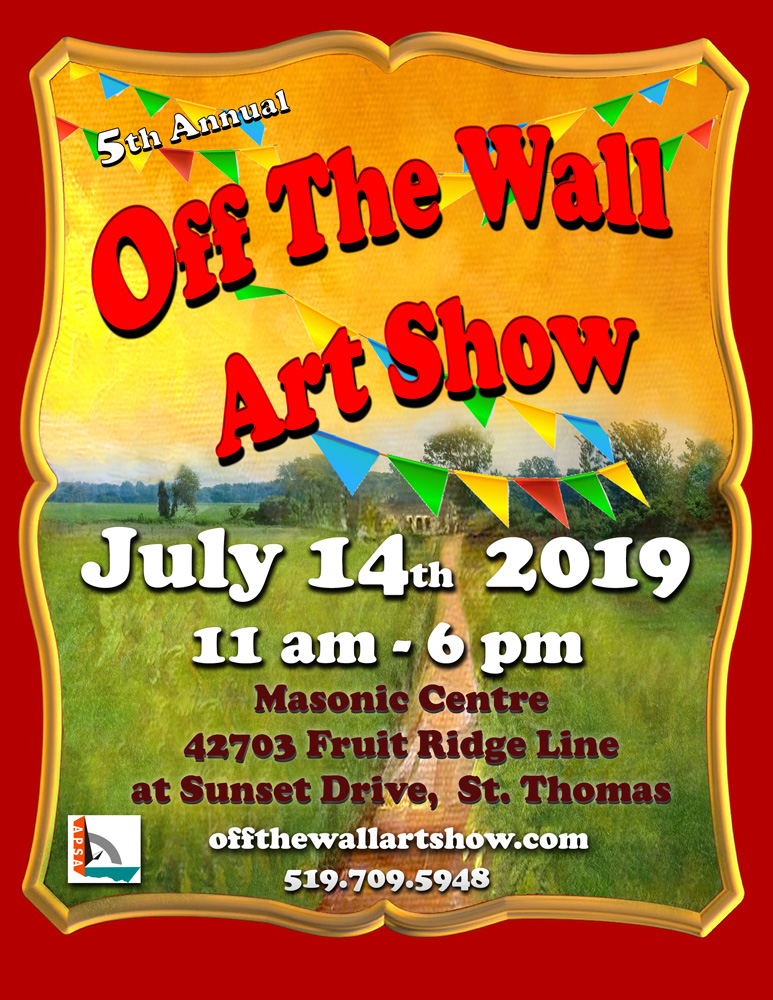 OFF THE WALL ART SHOW 2019 | Association of Port Stanley Artists